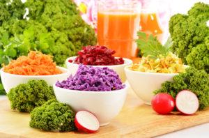 légumes crues