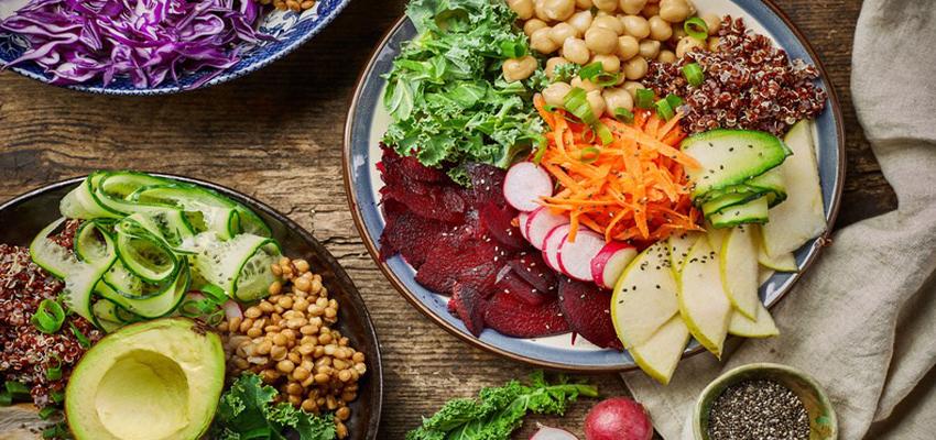 repas sains et équilibrés